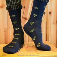 fashion design man socks custom logo dress socks