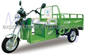 newest 48V 500w electric van cargo tricycle wheel 3.00-12 3 wheel cargo tricycle