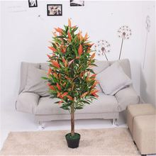 Best selling small colorful leaves artificial plant bonsai