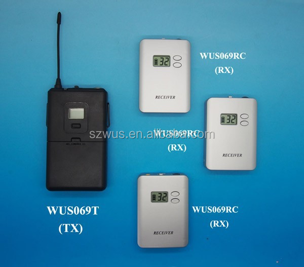 China factory Wholesale Wireless Portable Audio Tour Guide System WUS069 Series