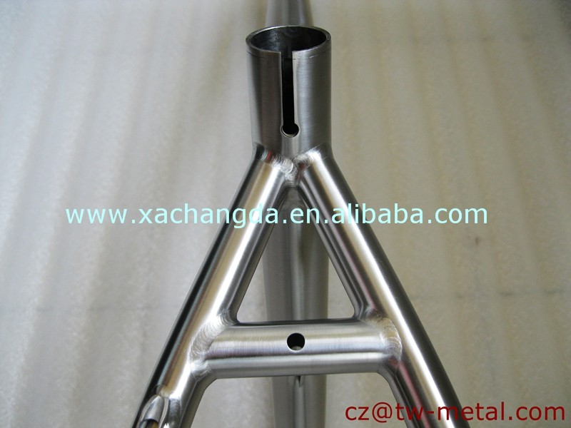 Hot sale!!! Titanium mountain bike frame customized Ti mtb bike frames made in China
