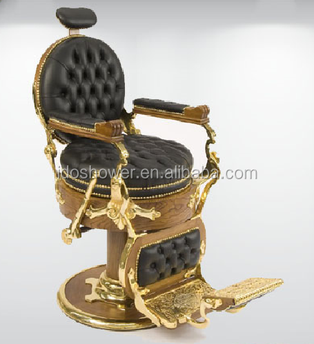 genuine leather hot sale comfortable barber chair sale cheap / luxury salon furniture