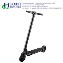 China HTOMT wholesale carbon folding electric scooter cheap electric scooter for adults