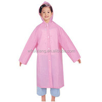 Disposable PE waterproof children poncho raincoat