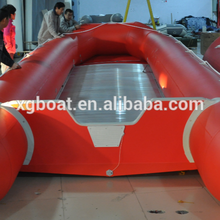 CE cando AR600--AR1000 gran barco inflable del PVC