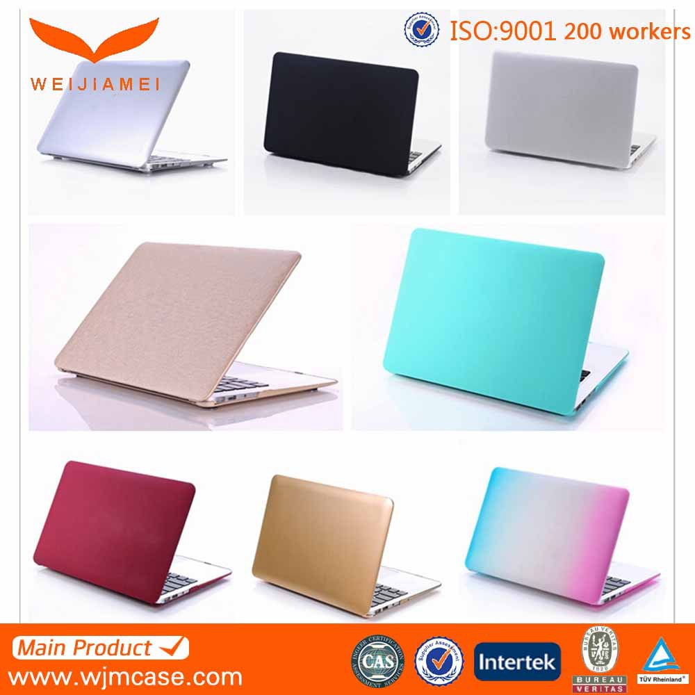 Various Colors Anti-scratch water-transfer printing For Macbook Plastic Case Air/Pro 12 inch/ 11 inch/ 13 inch/ 15 inch