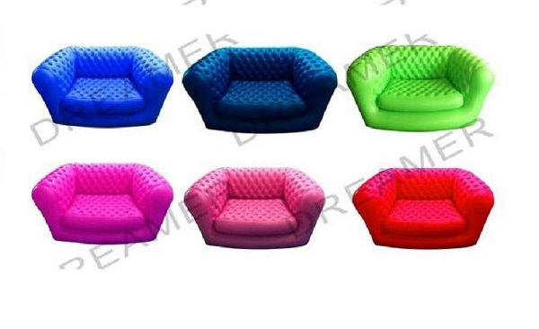 New model inflatable seat chesterfield sofa furniture with pricing