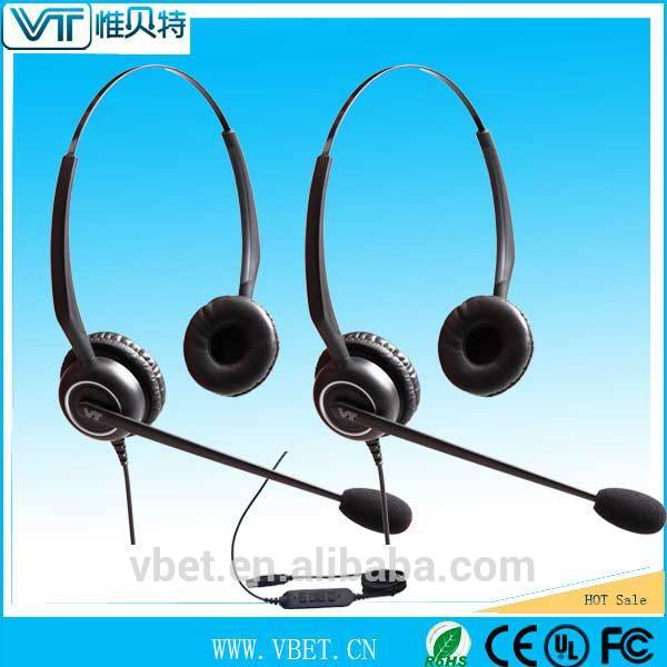 pc headset microphone with auto mute function Single / Dual headsets