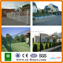 Plastic coated wire mesh panel