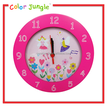 Round wall clocks price, for kids pink cheap wall clocks