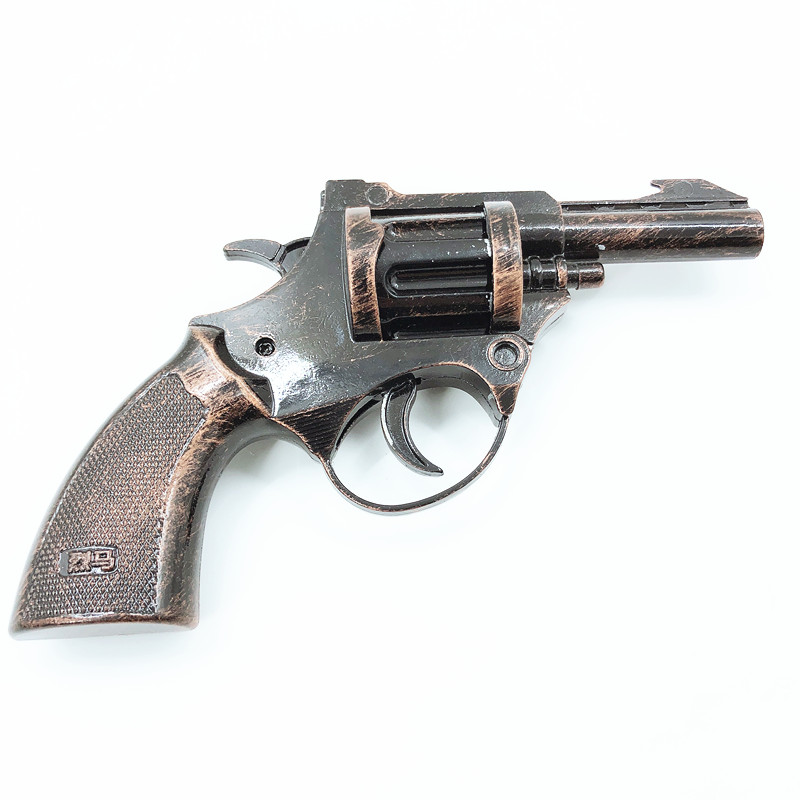 Hot metal props military crafts revolver cowboy toy <strong>guns</strong> model for children