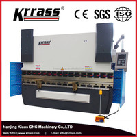 Krrass ISO&CE Mini CNC Electric Hydraulic Plate Bender Bending machine hydraulic Press brake price for sale