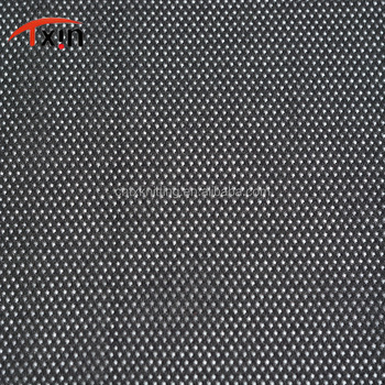 running clothes material black polyester mesh brushed fabric for felt and garment