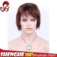factory short milky way peruvian hair lace wig