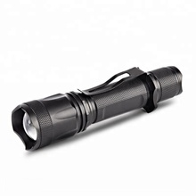 Best Outdoor 1000lumen Aluminum Zoomable USB Rechargeable 10W High Power Led Tactical Flashlight