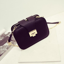 zm50019a new design women's PU leather bags with chain