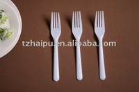 disposable plastic fork with long handle
