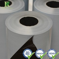 Manufacture High Quality Plastic 180micron Black and White LDPE Protective Film