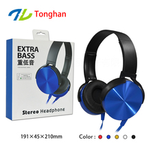 Marketing gift item bulk promotion headphones brand logos from OEM factory China
