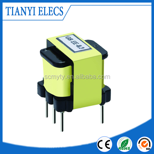Low DC Resistance ee 25 high frequency transformer