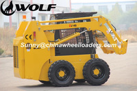 WOLF skid steer loader with dozer blade