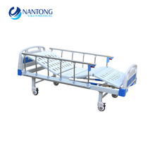 Hot selling two crank three function good price hospital bed manual
