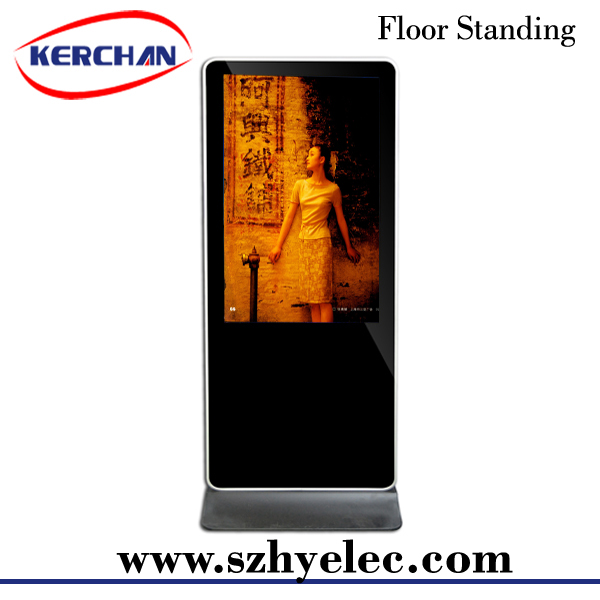 Alibaba shop 1080P floor standingandroid system interactive 46 inch indoor floor stand digital signage android advertising pl