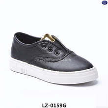 Newest korea slip on casual suede fabric shoes materials shoes citi trends shoes for kids