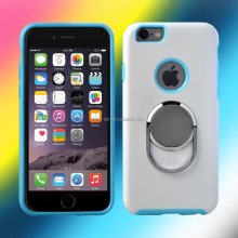 Hot sell For Apple Iphone compatible Brand protective case with kickstand and magnetic plate