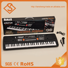 Fashion kids musical electronic organ 61 keys keyboard toy