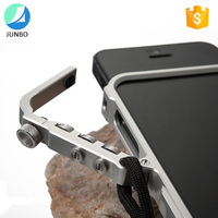 Low price shockproof mobile phone bumper case aluminum material cover for iPhone 4/4s