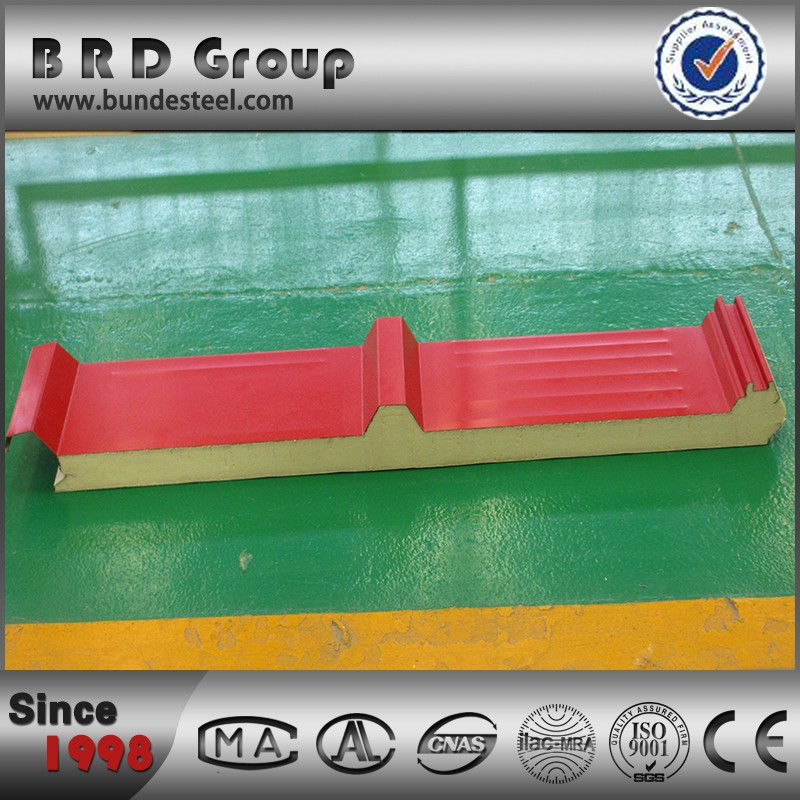 B.R.D Continuous production line Polyurethane Sandwich panel, PU Sandwich panels