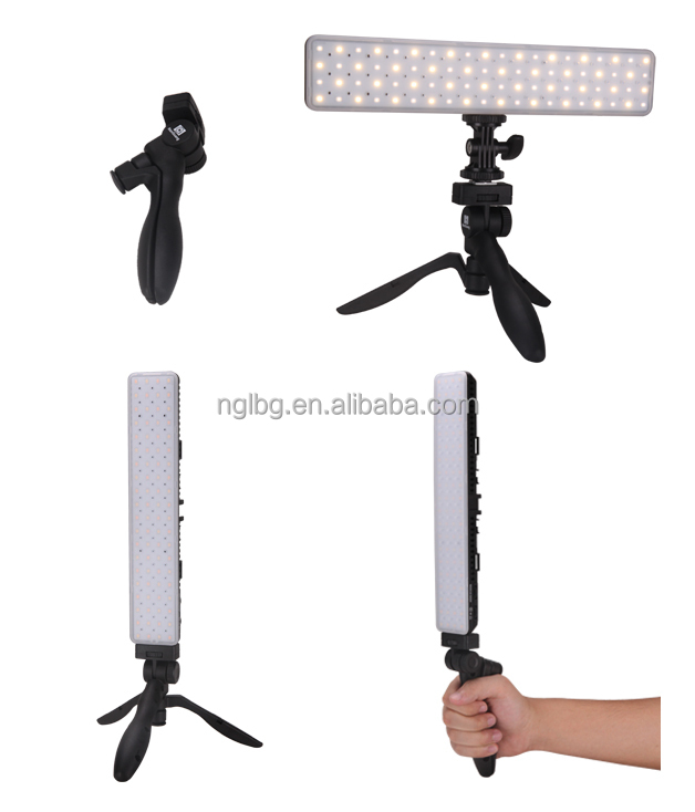 Nanguang 8W CN-T80C In-Car LED Photo Light handheld led camera rod light Ra 95