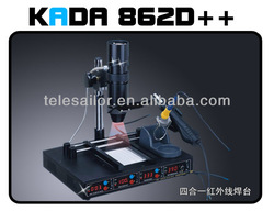KADA862D++ 4 IN 1 SMD SMT Digital Weldering Systerm, Infrared station