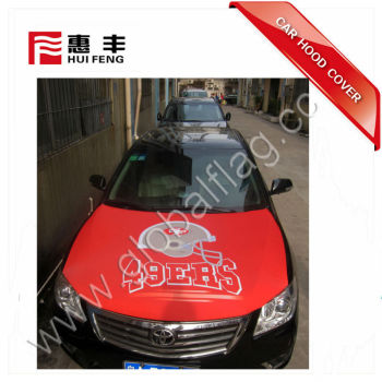 OEM San Francisco 49ers Car Auto Hood cover