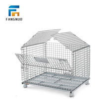 1500kg loading storage container metal wire mesh cage
