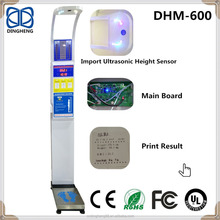 DHM-600 Electronics And Machinery Measure Body Weight Height And BMI Digital Body Weight Bathroom Scale