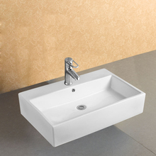 Square Counter Top Mounted Hand Wash Basin