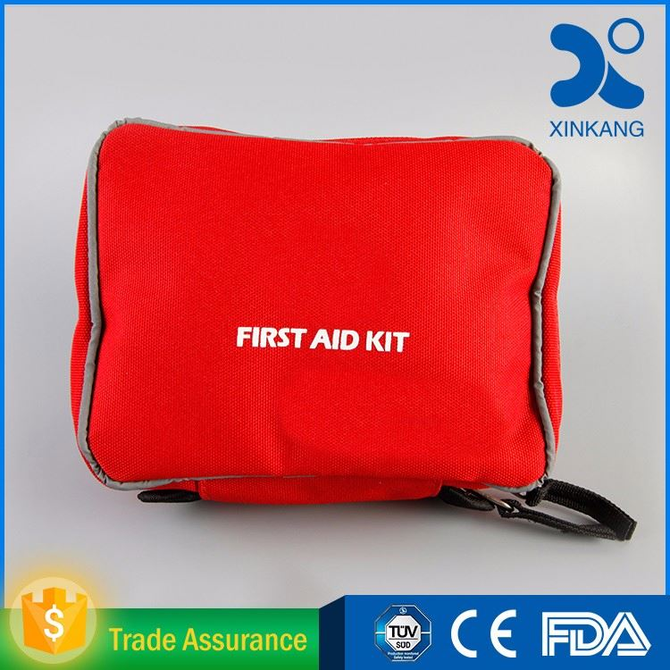 Hot-sale Complete Durable First Aid Kit /Car Emergency First Aid Bag with CE/FDA/ISO Perfect for home,office,workplace