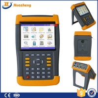 portable 3 phase harmonics power analyzer and power quality analyzer