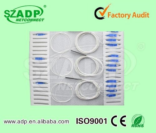 2017 Brand new Fiber splitter PLC Patch Cord cable made ADP in China
