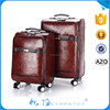 Eminent trolley luggage/leather travel bags