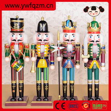 2015 new products wooden nutcracker christmas ornament