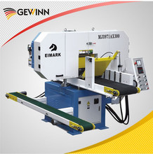 high quality horizontal cutting wooden band saw machine MJ3971Ax300