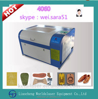 Worldslaser Bamboo/bamboo crafts/gift processing 4060 laser engraving machine
