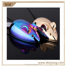 Cute Design Mouse Cigarette Lighters Rechargeable USB Electric Animal Shaped Lighter