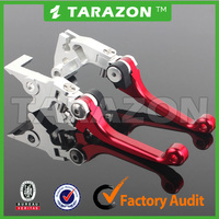 Motocross 3 fingers Folding Adjustable CNC Machined Brake Clutch Levers for Dirt Bike CRF Series