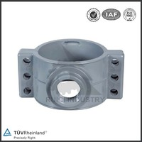 OEM services tube clamp pvc pipe fitting saddle clamp