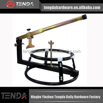 Motorcycle tire changing equipment