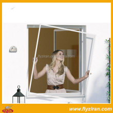 Aluminium frame one way vision window screen with hook